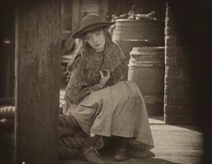 Lillian Gish dans Broken Blossoms (DW Griffith, 1919,