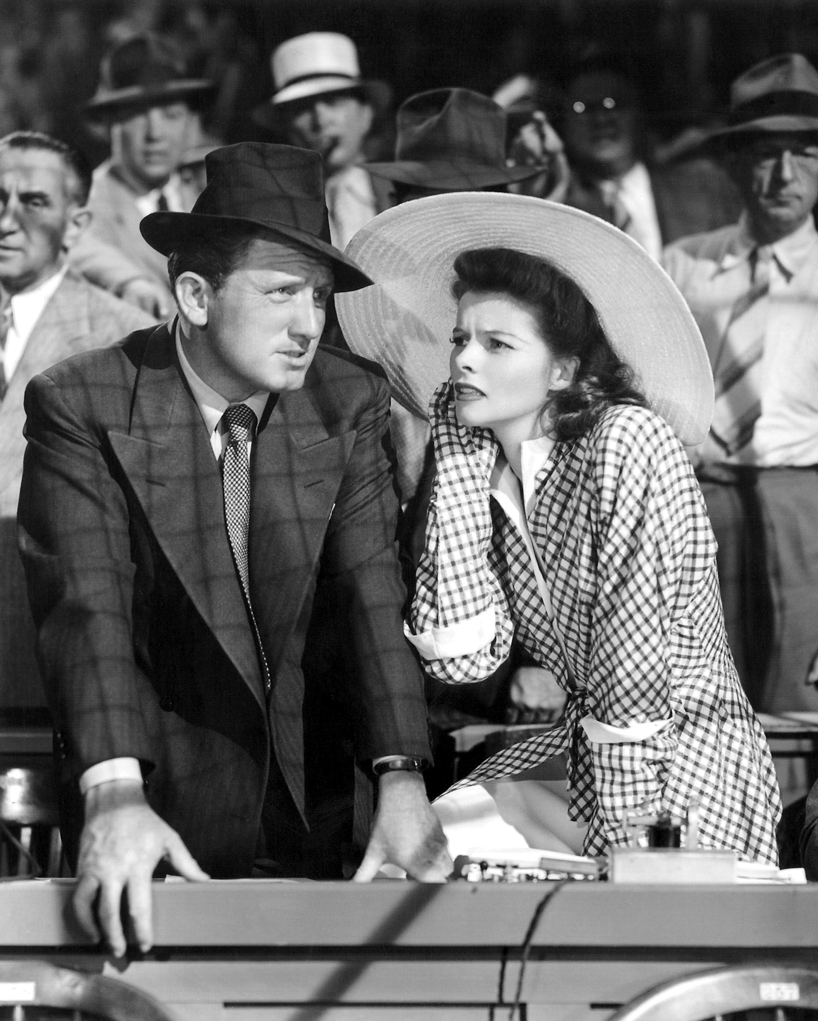 when did katharine hepburn and spencer tracy meet