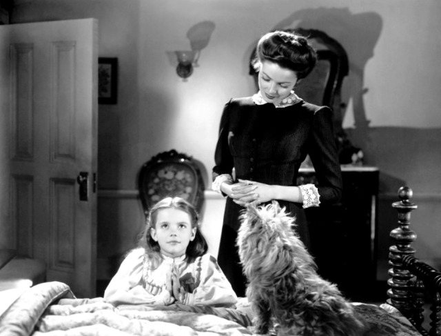 Correzione Natalie-Wood-and-Gene-Tierney-The-Ghost-and-Mrs-Muir-1947