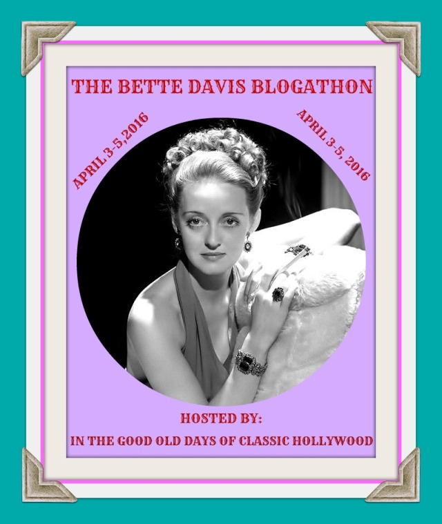 BLOGATHON BETTE