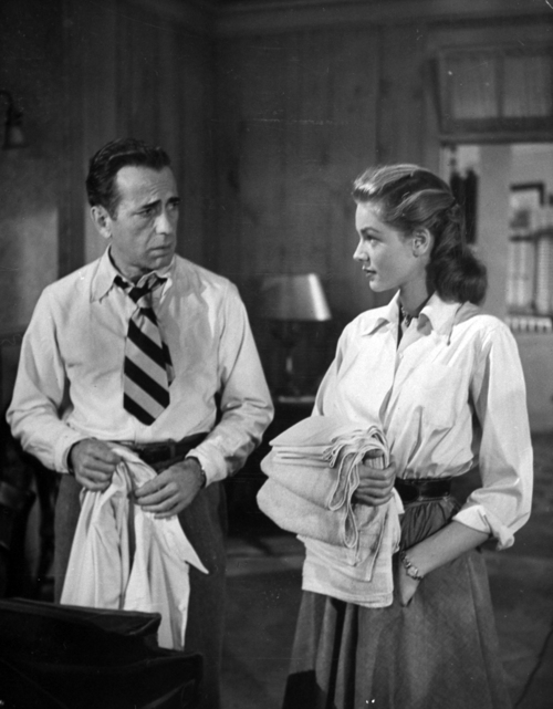 Humphrey Bogart [& Wife #4];Lauren Bacall