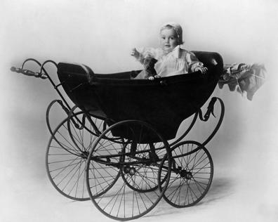 Actress Olivia de Havilland as a Baby
