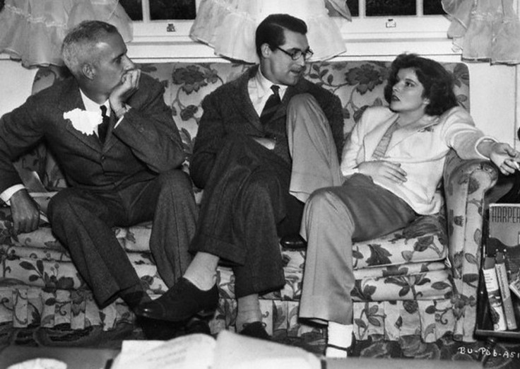 Howard-Hawks-Cary-Grant-and-Katharine-Hepburn-on-the-set-of-Bringing-Up-Baby-1938