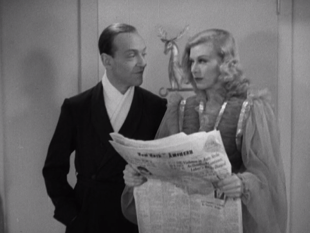 Fred And Ginger Roller Skate In Shall We Dance 1937 In The Good Old Days Of Classic Hollywood