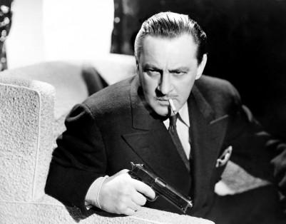 BULLDOG DRUMMOND'S PERIL, John Barrymore, 1938